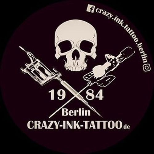 Crazy Ink Tattoo Berlin Logo