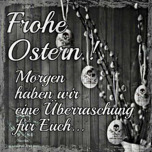 Frohe Ostern 2019 Crazy Ink Tattoo Berlin