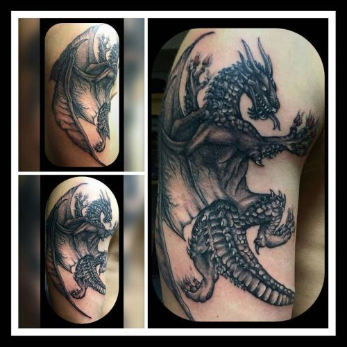 Drachen Dragon Tattoo