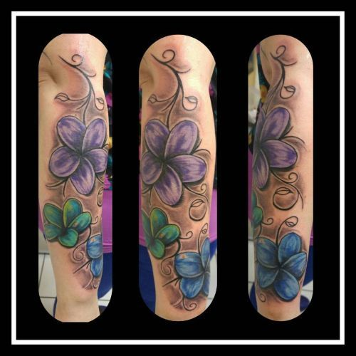 Flower Ranke Tattoo
