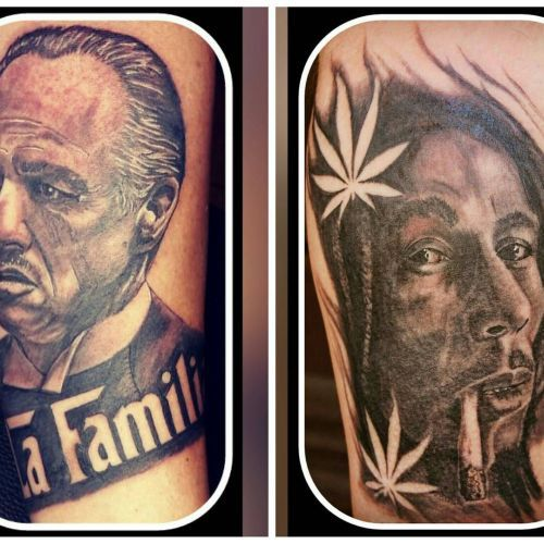 Portrait Tattoo